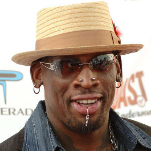 Dennis Rodman - NBA Hall of Famer